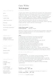 Developer Resume Examples Impressive Resume Format For Web Designer Android Developer Resume Sample