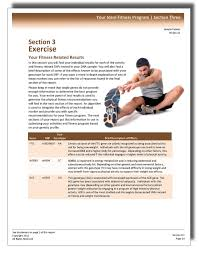 A Fitness Plan Fitness Plan Genovive