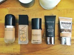 nars laura mercier buxom foundation marc jacobs foundation foundation no