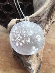 full moon pendant necklace moon phase