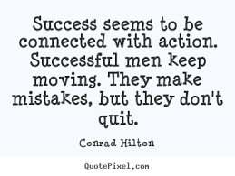 Quotes By Conrad Hilton - QuotePixel.com