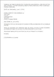 job interview template 46 beautiful letter declining job interview chart photograph