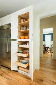 ... Kitchen Pantry Cabinets With Pull Out Trays U0026amp; Shelves With Regard  To Beautiful Tall