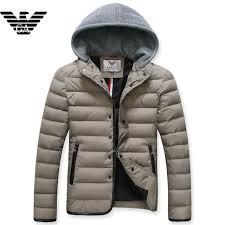 2016 armani men jackets outdoor with hood e 1 i gray choose