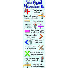 Mcdonald Publishing What Good Mathematicians Do Colossal Poster