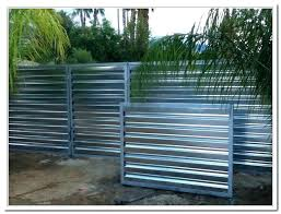 corrugated metal fence.  Fence Sheet Metal Fences Fence Cost Corrugated Chain Link  Estimator Throughout Corrugated Metal Fence