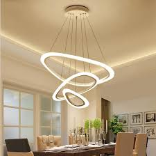 suspended lighting. Modern Pendant Light Irregular Circle Acrylic Lamp Lighting Chandeliers Suspended Bar Lobby Bedroom Livingroom G
