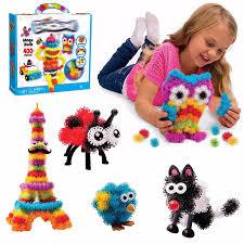 creative creations lighting. 400pcs puff balls mega pack pet bug creation kids art craft toy bundle assemble puzzle creative creations lighting a