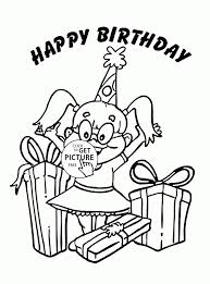 Small Picture 150 best Birthday coloring pages images on Pinterest Coloring