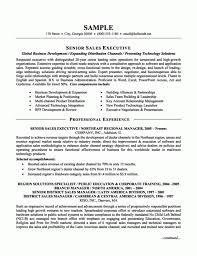 Executive Resume Templates Word