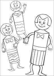Meneer Kegel En De Kegel Kids Kleurplaat Jouwkleurplaten