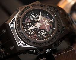 mens black diamond watches best watchess 2017 linde werdelin spidosd black diamond watch hands on atowatch