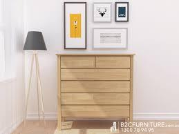 Natural Bedroom Furniture Dandenong Chest Of Drawers Timber Tallboys B2c Furniture