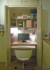 home office in a cupboard. Modern Home Office Desk Cupboard And Fitted In A E