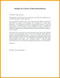Letter Of Recommendation For Free Letter Of Recommendation Letter Of Recommendation For Student