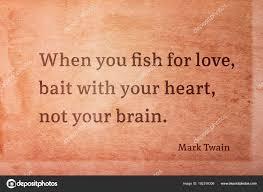 Fish For Love Twain Stock Photo Yurizap 192316306