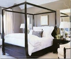 epiphany living} Grey walls with dark wood furniture and white ...