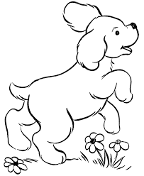 Small Picture Dogs Printable Coloring Pages Dog Coloring Pages For Kids