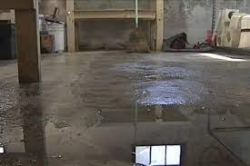 the basement floor