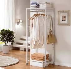 Coat Rack With Shelf Ikea Floor coat rack shelf Residential furniture Shelf bedroom simple 39