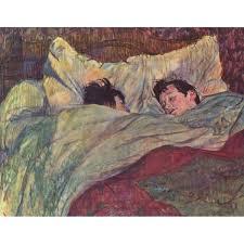 Dos chicas en la cama Toulouse-Lautrec, Henri de