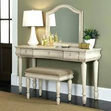 White Bedroom Vanity Table Set Desk Rustic Traditions 2 With Drawers ...