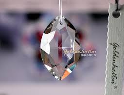 crystals oval prism crystal chandelier parts