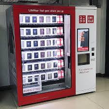 Uniqlo Vending Machine Custom UniqloToGo Has Landed At LaGuardia Tomorrow We Touch Down At