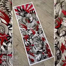 сделать татуировку рукав в городе санкт петербург по эскизу мастера