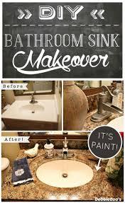 Painted Bathroom Countertops Best 20 Granite Countertops Bathroom Ideas On Pinterest Granite