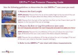 Drypro Waterproof Cast Protector Full Leg