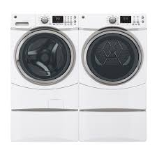 Gas Washers And Dryers Gfds170ghwwge 75 Cu Ft Gas Dryer With Steam White On White