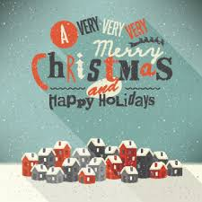 Retro Holidays 2014 Christmas With Holiday Retro Style Background Vector Free