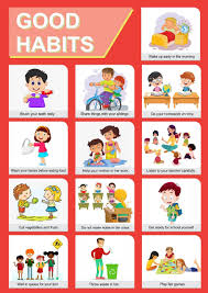 Good Manners Chart For Class 1 Paper Plane Design Good Habits Educational Charts For Kids Home And School Paper A3 Multicolour