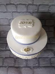 Simple Small Wedding Cake Cakecentralcom