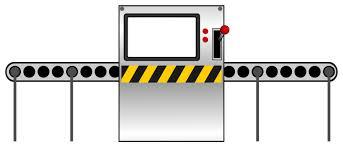 factory conveyor belt drawing. line factory clipart conveyor belt drawing