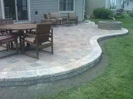 stone patio designs brick paver patio