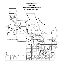 Ward 41 enumeration district descriptions