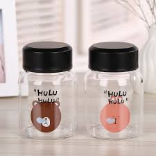 china 300ml cute fashion children school clear glass water bottle china glass water bottle water bottle