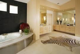 Nice Bathroom Decor Bathroom Spacious Elegant Bathroom Design With Nice Zebra Rugs