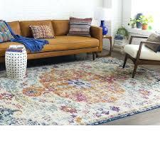 wayfair blue rug saffron area accent rugs