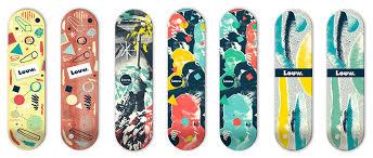 Skateboards Designs Jorge Primos Delicious Deck Designs For Louw Skateboards