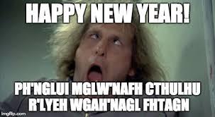 Happy new year cthulhu - Imgflip