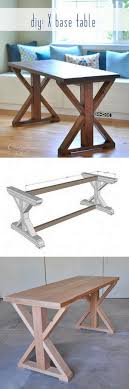 check out this idea on how to build an easy diy x base rustic