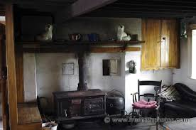 Irish Country Kitchens Metal Stove In Old Irish Cottage 2jpg 1200797 Cottage Ideais