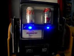 Koolatron Mini Vending Machine Interesting Koolatron Blue Vending Machine In Action Awesome YouTube