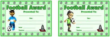 Soccer Certificate Templates For Word Printable Soccer Award Certificates Download Them Or Print