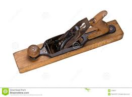 wood plane tool. an antique wood working plane hand tool royalty free stock photography a
