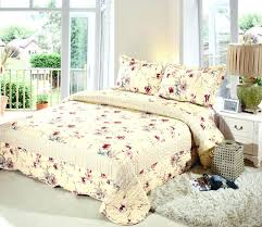 quilts and comforters quilts bedspreads comforters quilted coverlet set queen flower printed comforter bedding set bed quilts and comforters