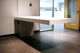 wall mounted office desk. Amazing Floating Office Desk Modern Desks Ideas With Pertaining To Wall Mounted .
